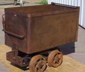 Mine Car, Ore Cars, Rail Equipment, Melcher Machine Works, Durango