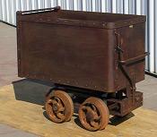 Mine Car, Ore Cars, Rail Equipment, Melcher Machine Works